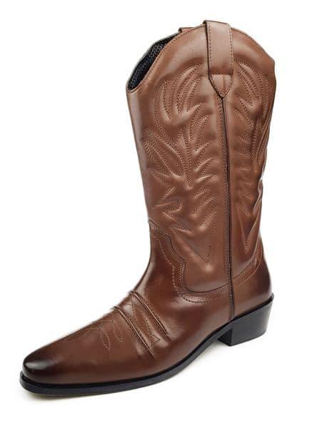 Woodland - Cowboy M699 Brown Boots
